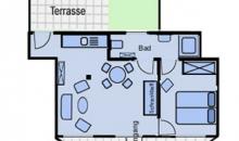 Martje Flors - Appartement 2 - Grundriss