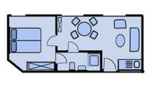 Martje Flors - Appartement 11 - Grundriss