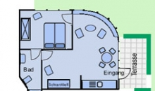 Martje Flors - Appartement 5 - Grundriss